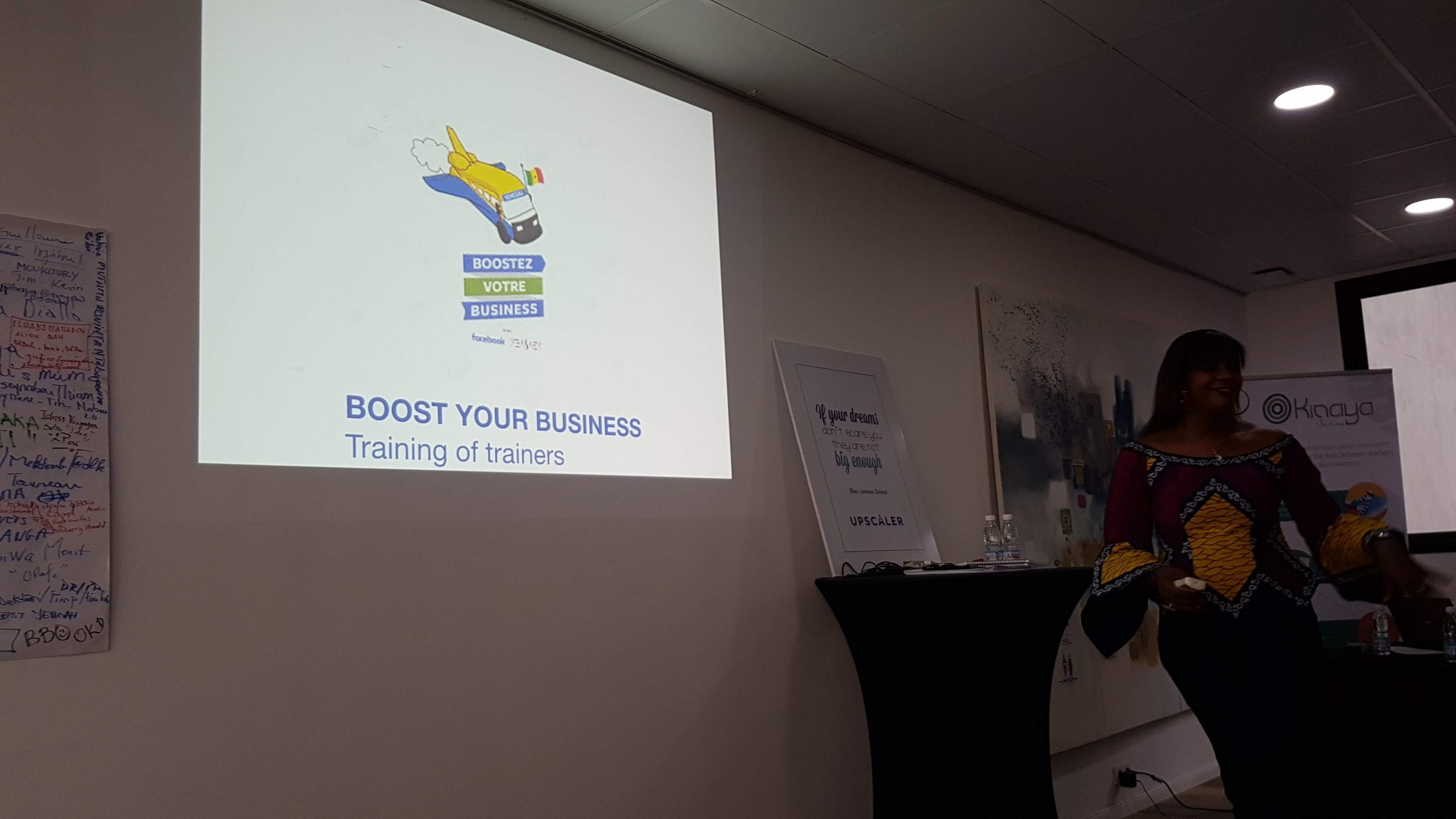 Boost With Facebook - Boost Your Business - Trainers Abidjan - EN Group