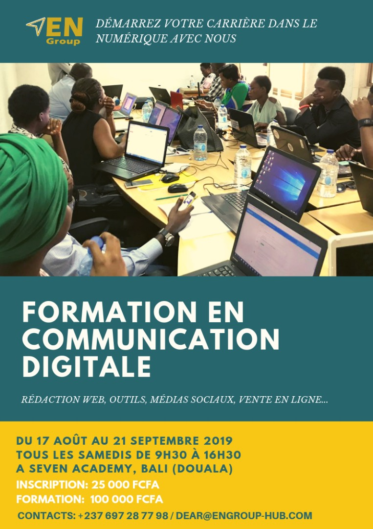 EN Group - Formation Communication Digitale - Session 6 - Aout 2019